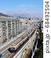 阪神電気鉄道 青木駅付近の5000系電車 68492504