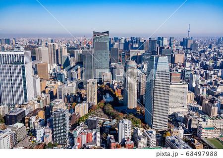 (東京都)東京都市風景・千代田区方面 68497988
