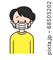 咳エチケット 68503202