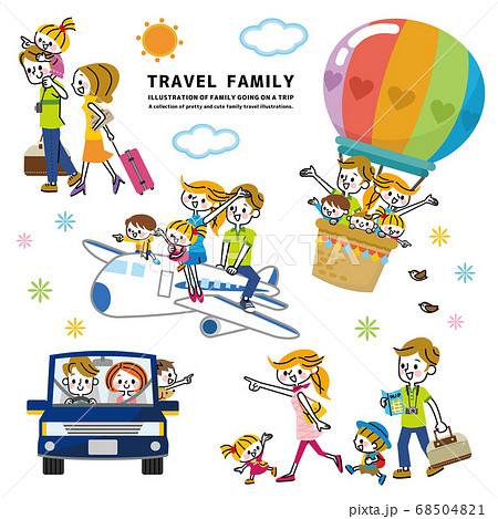 家族 旅行 セット 68504821