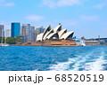 シドニーの街並み オペラハウス 68520519