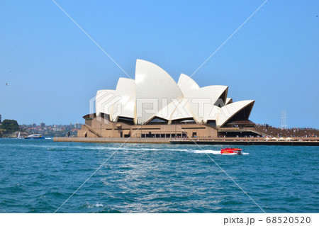 海上から撮影したオペラハウス 68520520