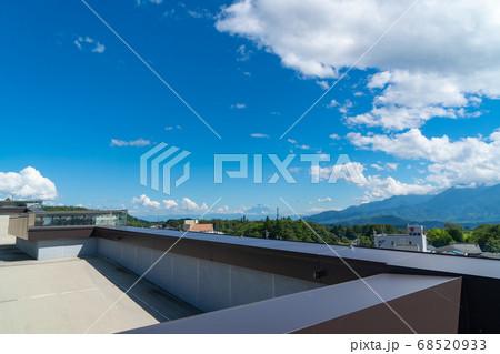 JR小淵沢駅の展望台から見た富士山 68520933