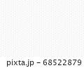 アブストラクト デンスポリゴンキューブ ホワイトテクスチャ 68522879