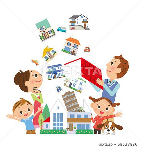 家探し 住居 家族 不動産情報 68537836