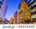 イルミネーションの池袋西口 東京夜景 68545405