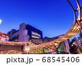 イルミネーションの池袋西口 東京夜景 68545406