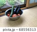 夏野菜と和室 68556313