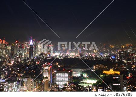 六本木ヒルズからの夜景(新宿方面) 68576889