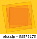 yellow shades square background vector illustration EPS10 68579175