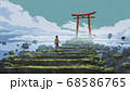 Torii Gate, the entrance to the peaceful land 68586765