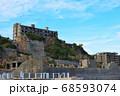 廃墟の軍艦島 68593074