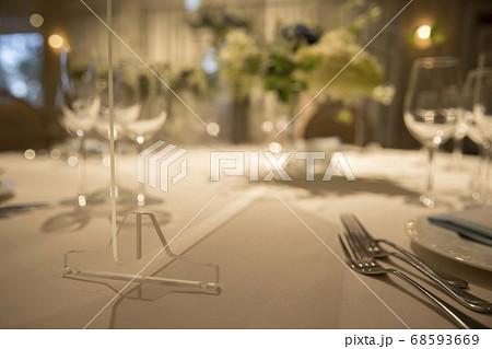 コロナ対策をした新しい生活様式の披露宴イメージ 68593669