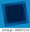 shades of blue square background vector illustration EPS10 68607210
