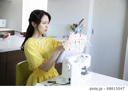 手作り ミシン  68615047