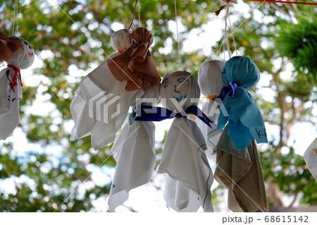 奈良県五條市生蓮寺のてるてる坊主 68615142