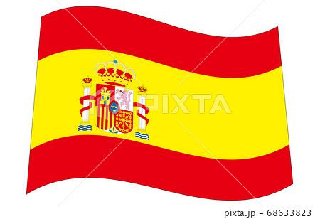 新世界の国旗2:3Ver波形 スペイン 68633823