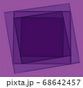 shades of purple square background vector illustration EPS10 68642457