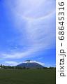北海道倶知安町で撮影した羊蹄山と彩雲② 68645316
