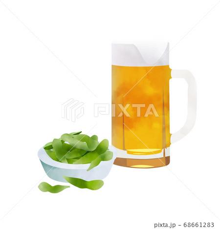 枝豆とビール 68661283