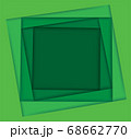 shades of green square background vector illustration EPS10 68662770