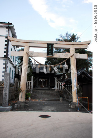 「総社   淡海國玉神社」の鳥居(静岡県磐田市) 68665918