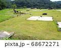 北広島市の吉川元春館跡の景色 68672271