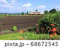 真岡鐵道「7月下旬の沿線風景」 68672545