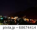 夏の塩原温泉の夜景 68674414