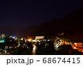 夏の塩原温泉の夜景 68674415
