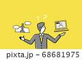 オンライン商談と対面、どっちが良いかの比較イメージ 68681975