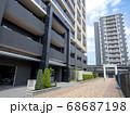 地方都市のタワーマンション 68687198