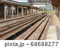 新潟県 小出駅ホーム 魚沼 68688277