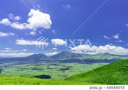 阿蘇国立公園、大観峰(だいかんぼう)より撮影 68689056