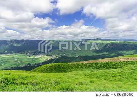 阿蘇国立公園、大観峰(だいかんぼう)より撮影 68689060