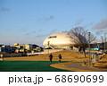 石巻市の石ノ森漫画館と公園の様子 68690699
