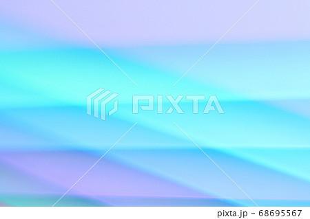 青色・紫色系抽象的背景 緩やかなライン 68695567