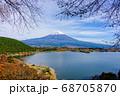 静岡 田貫湖 富士山 風景 68705870
