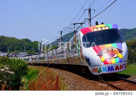 アンパンマン列車で運転する8000系 特急しおかぜ 68708503