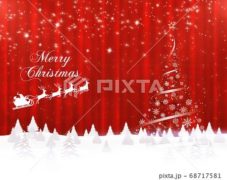 クリスマスイメージ素材 68717581