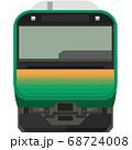 ドット絵風のE235系(東海道線等) 68724008