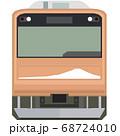ドット絵風の205系(富士急行線) 68724010