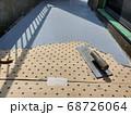 ウレタン防水における通気緩衝工法 68726064