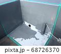 ウレタン防水工事における改修用ドレン設置 68726370