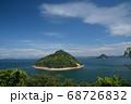 大槌・小槌島の夏景(香川県坂出市) 68726832