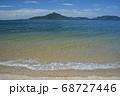 粟島・志々島を望む大浜海水浴場(香川県三豊市詫間町) 68727446