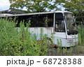 双葉郡双葉町 放置されたバス 68728388