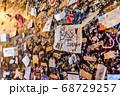 イタリア ヴェローナ ジュリエットの家 ジュリエットの壁 68729257