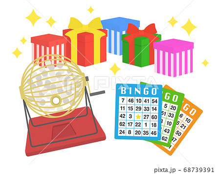 ビンゴゲームのイラスト 68739391