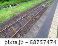 嘉例川駅のホームと線路 68757474
